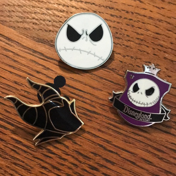 Disney Jewelry - You Pick! Jack Skellington Paris Pin Evil Queen